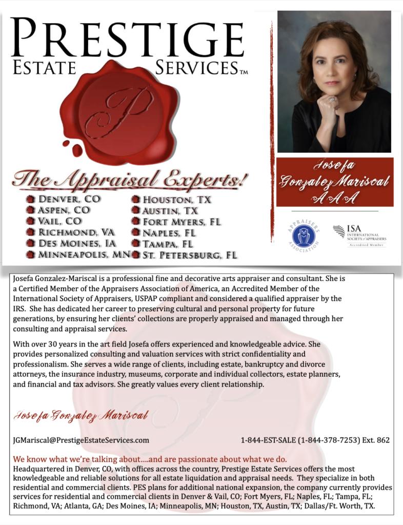 Houston Personal Property Appriasers Josefa Gonzalez Mariscal