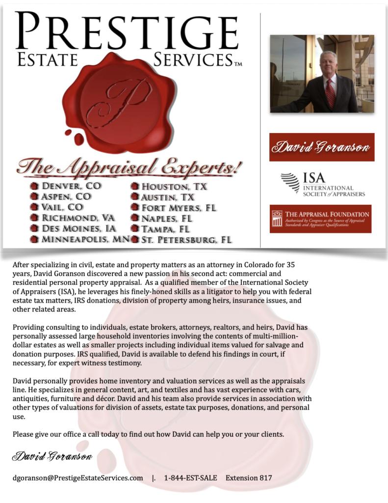 Denver Personal Property Appraisers